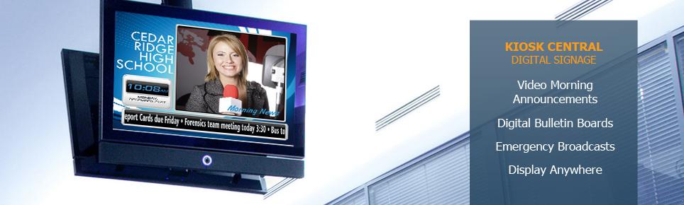 Digital Signage K-12
